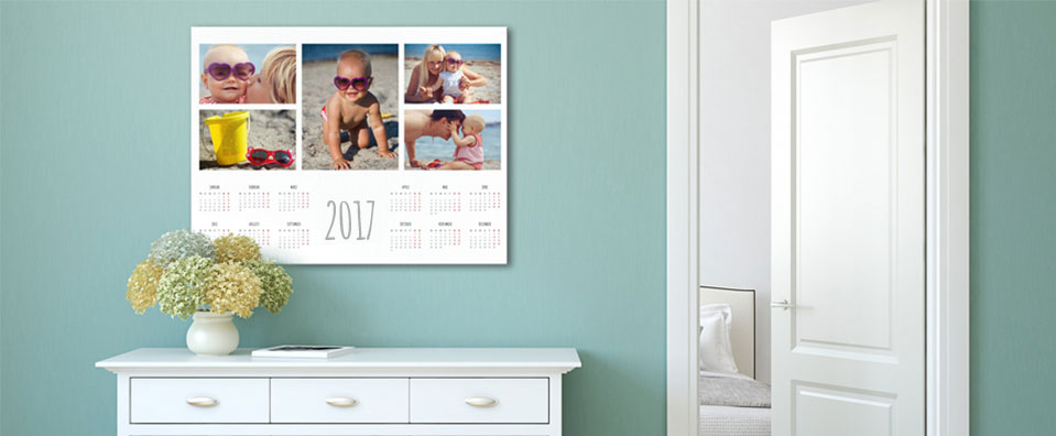 calendario grande motivo familia