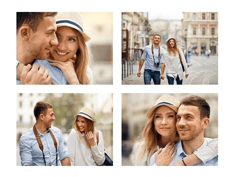 collage con 4 fotos top