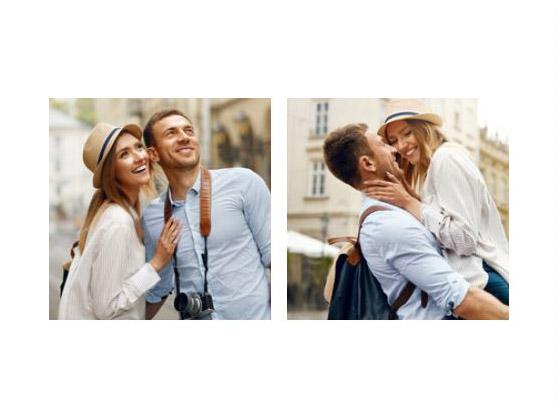 collage dos fotos slider