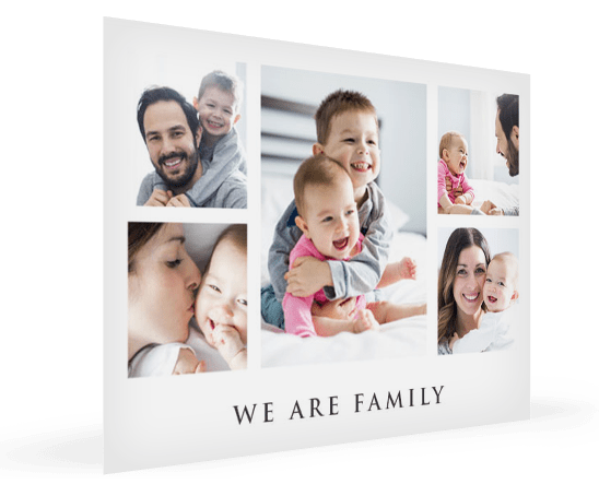 collage poster motivo familia landing
