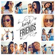 plantilla collage amigos 2