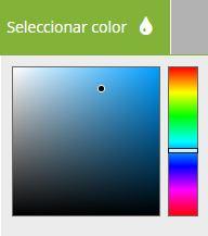 Seleccionar colores de collage